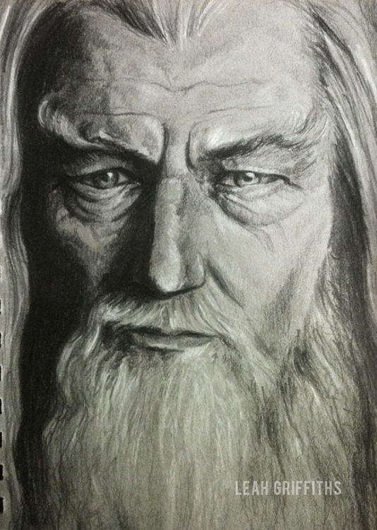 Gandalf Grey Graphite white cha - leahgriffiths | ello