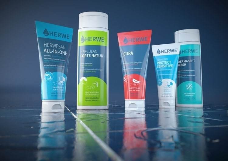 3d Herwe products - product, packaging - hereiscris | ello