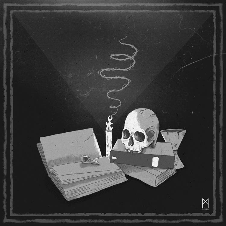 Occult! Illustration Photoshop  - m_design | ello
