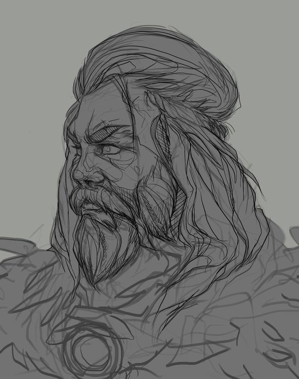 quick sketch study facials - illustration - bassim   ello