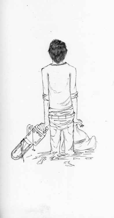 late night uni doodle - 'Choppe - thecreativefish   ello
