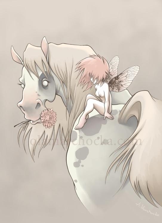 Horsefly - horse, pony, fairytales - aleksandracupcake | ello