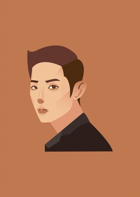Lee Soo Hyuk - portrait, illustration - bigbratwolf | ello