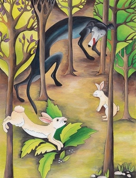 Illustration children book Fabu - isabelvalfigueira   ello