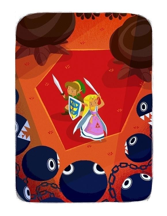 Zelda - illustration, herocomplexgallery - bshum | ello