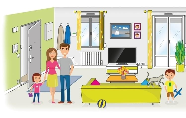 Illustration - illustration - medjid | ello