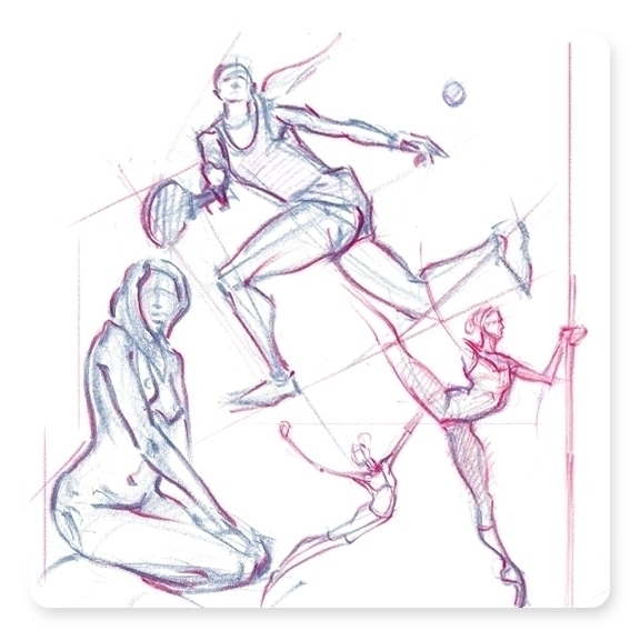90 gesture drawings Quick Pose - dkelmer | ello
