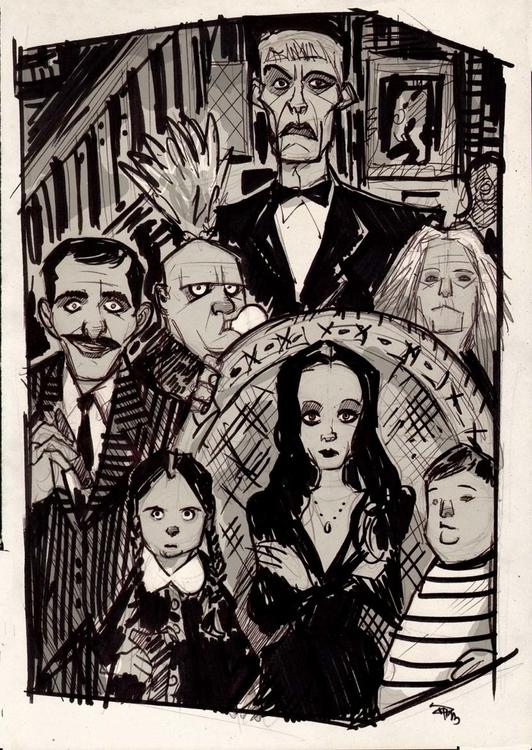 Addams Family - addamsfamiliy, denismedri, - denismedri | ello