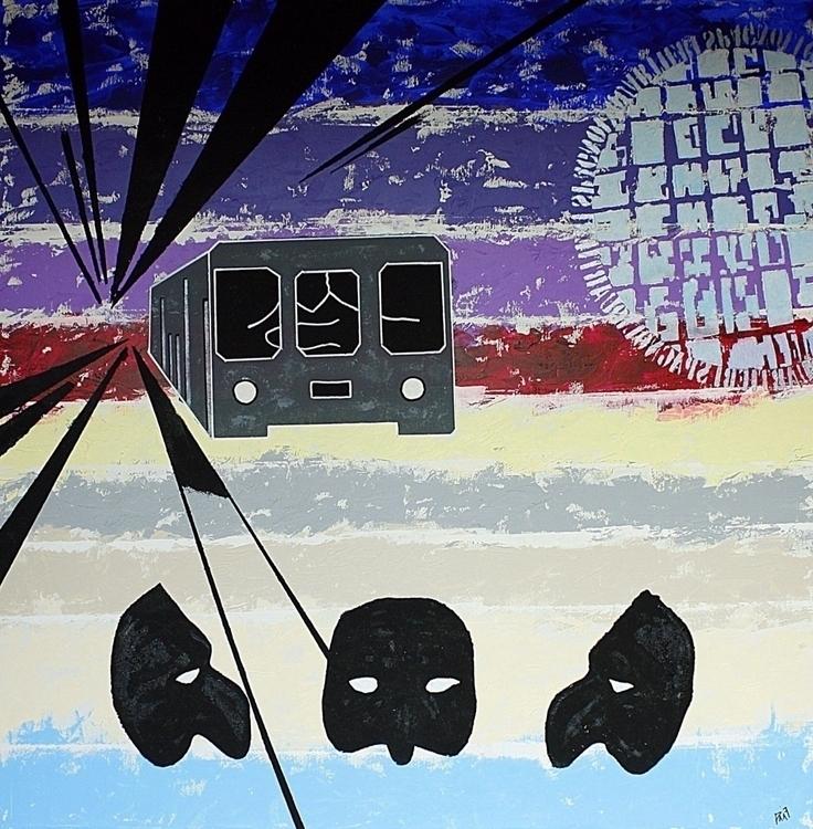 IL MIO VIAGGIO acrilic canvas 1 - pacofalco | ello