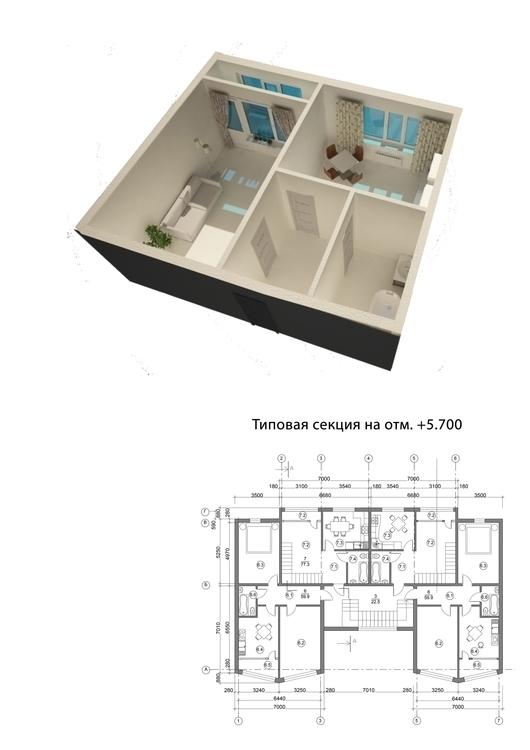3d, architecture - kravtsova_k | ello