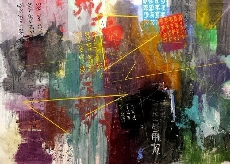 Secondhand Origins Acrylic Canv - joaonepomuceno | ello