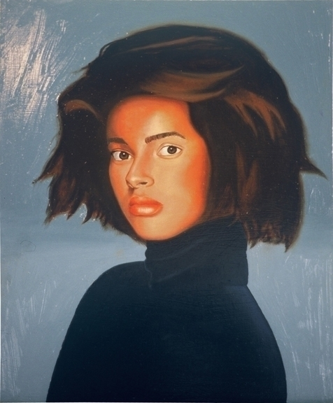 Vogue Model oil panel 9 11 - painting - cree8vision | ello