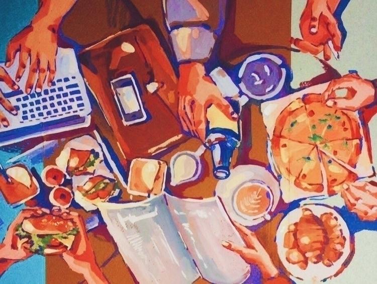 illustration, painting, drawing - kravtsova_k | ello