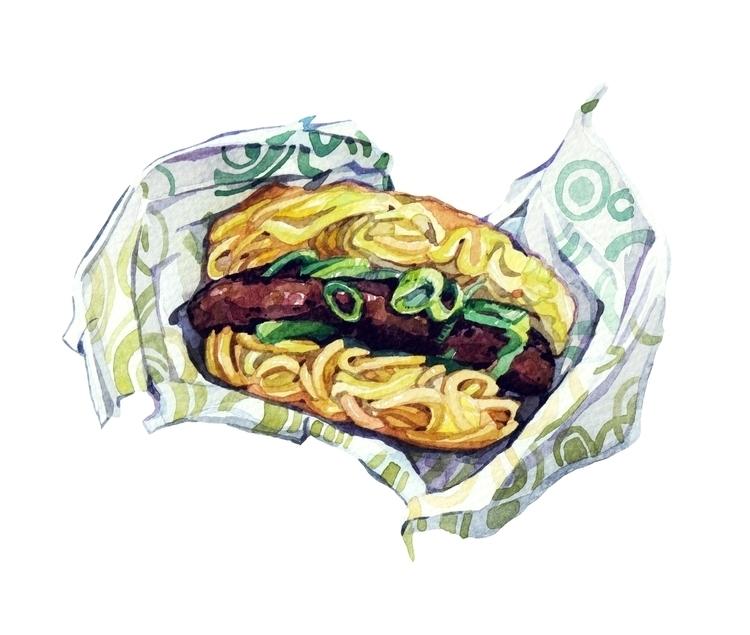 Ramen burger Esquire Magazine - ramen - hollyexley | ello