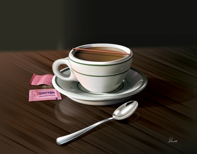 Title: Coffee Break Vector illu - g_marshallarts | ello