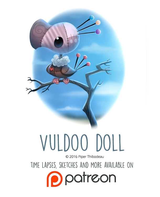 Day 1436. Vuldoo Doll - piperthibodeau | ello