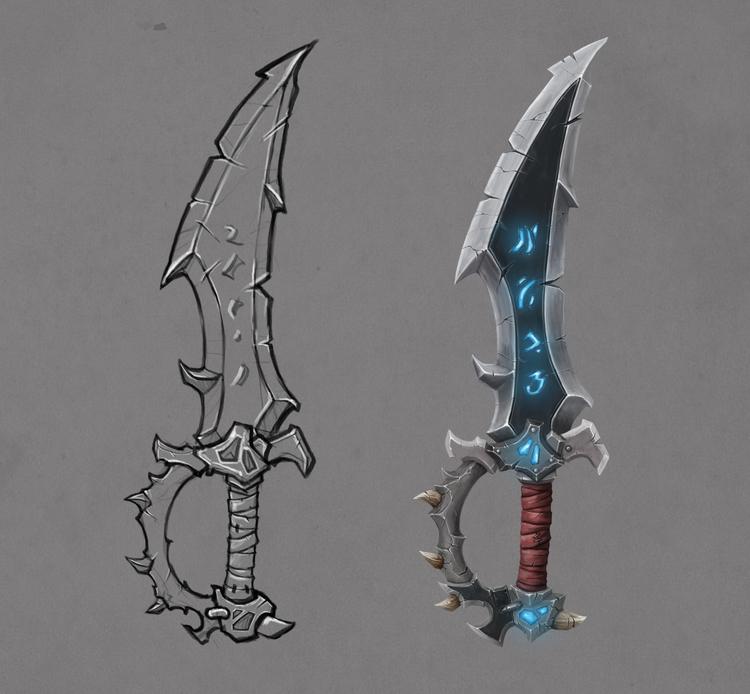 Fantasy sword - bernardocristovao | ello