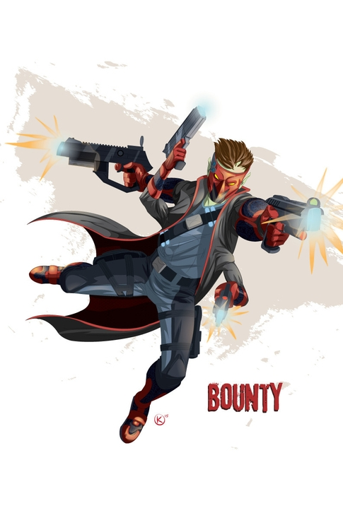 Bounty notorious bounty hunter  - universek-1349 | ello