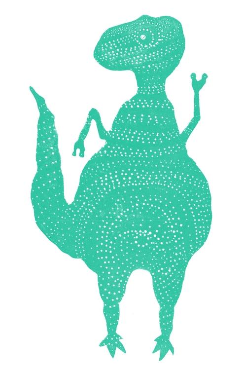 Rex - sweet dinosaur 'Dinosauri - beckulla | ello