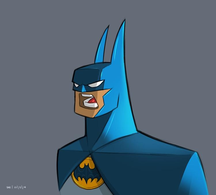 Batman Character Study - ahmedgamal-3942   ello