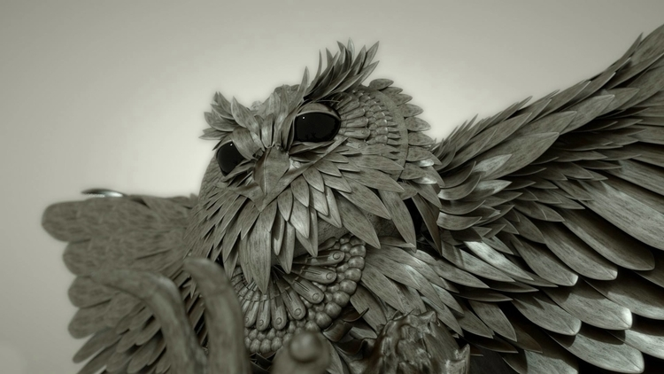 Iron Owl - animation, motiondesign - mauritziooo | ello