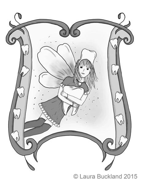 Flossie tooth fairy Granny Rain - laurabuckland | ello