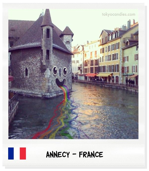 annecy, france, house, rainbow - tokyocandies-1186   ello