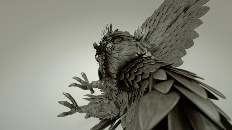 3d, animation, characterdesign - mauritziooo | ello