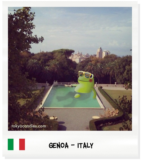 genoa, italy, frog, pool, city - tokyocandies-1186 | ello