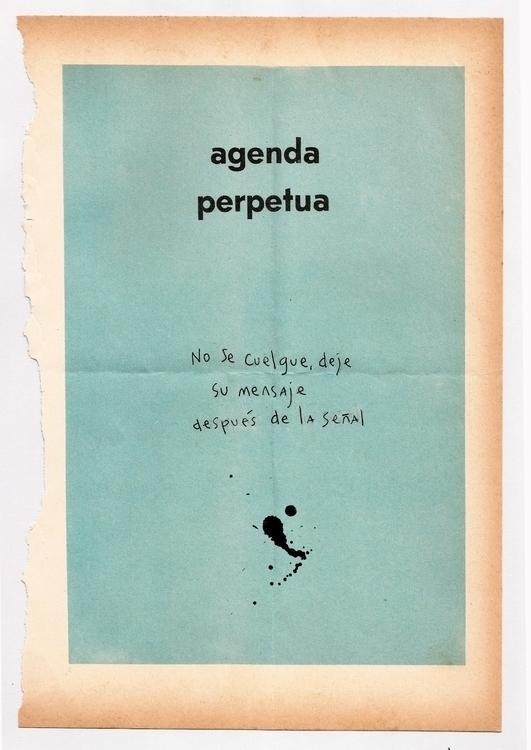 Handmade lettering agenda - chineseink - flormeije | ello