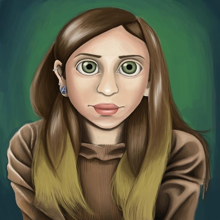 Victoria - painting, digitalart - andyanime90 | ello
