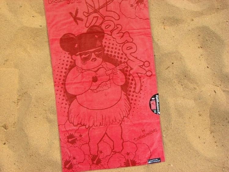 hawaii, towel, sand, beach, summer - tokyocandies-1186 | ello