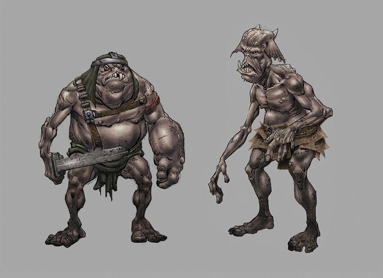 Goblins - gameart, gamedev, conceptart - tommcweeney   ello
