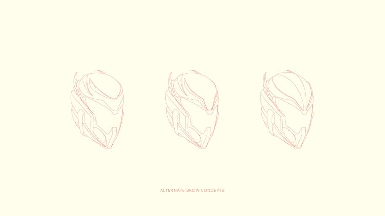 Alternate brow concepts - illustration - babyeyez | ello