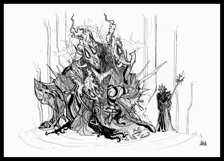 Cerberus servant - illustration - blast-1381   ello