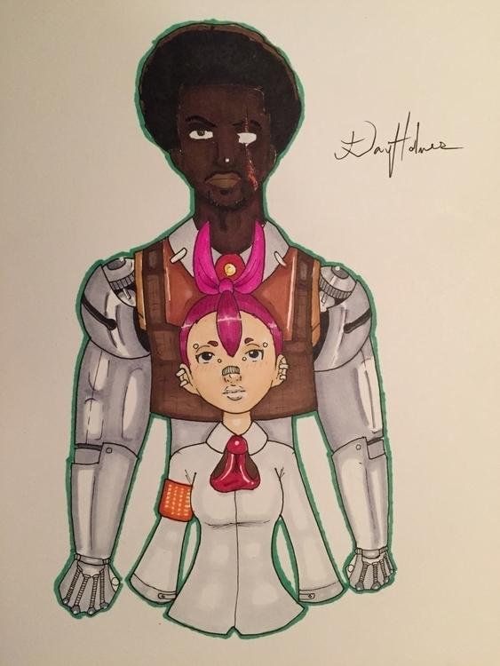 Workin characters comic/manga - art - ddhlmes3 | ello