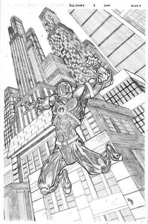 Soul Eraser variant cover - 3, illustration - ehernand1 | ello