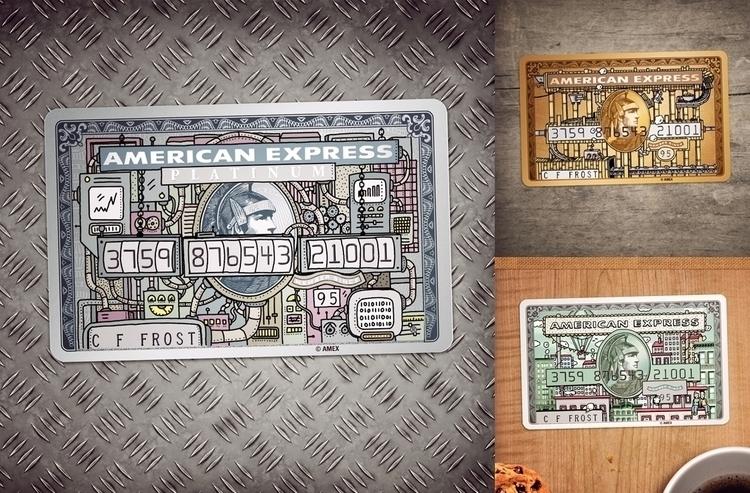 American Express - Artist month - snarlik | ello