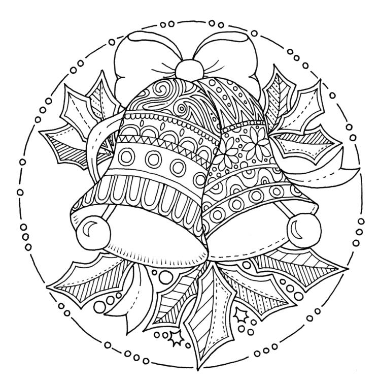 Christmas Bells - illustration, drawing - ellenparzer | ello