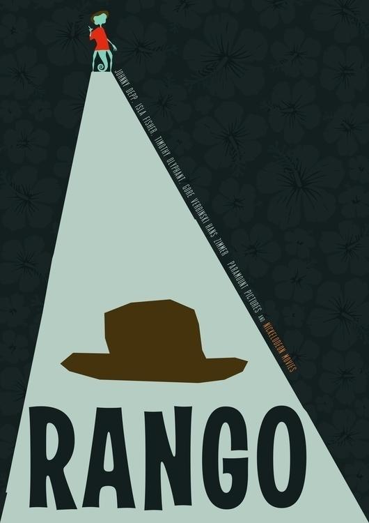Rango - johnnydepp, movieposter - steve-2038 | ello