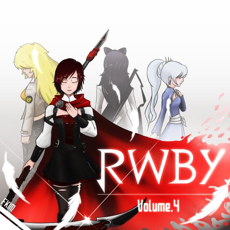 RWBY vol 4 cover - illustration - fkim90 | ello