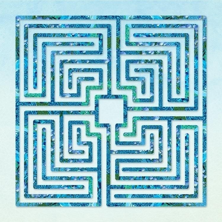 Roman style labyrinth patterned - nancyaurandhumpf | ello