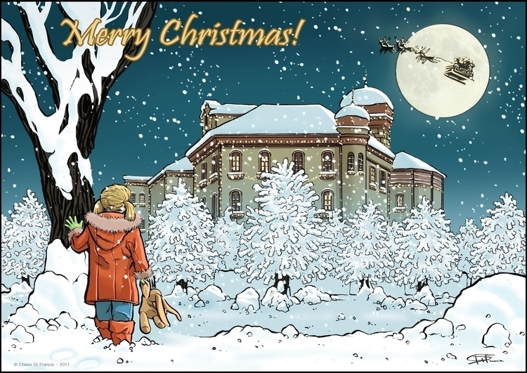 Merry Christmas - MerryChristmas - chiaradifrancia   ello