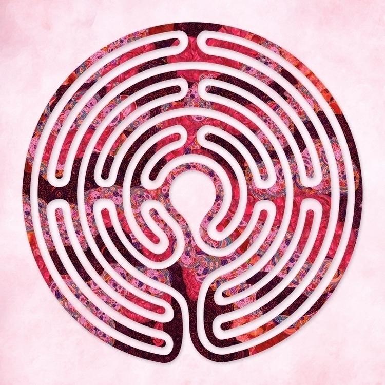 Hilton Red - labyrinth design p - nancyaurandhumpf | ello