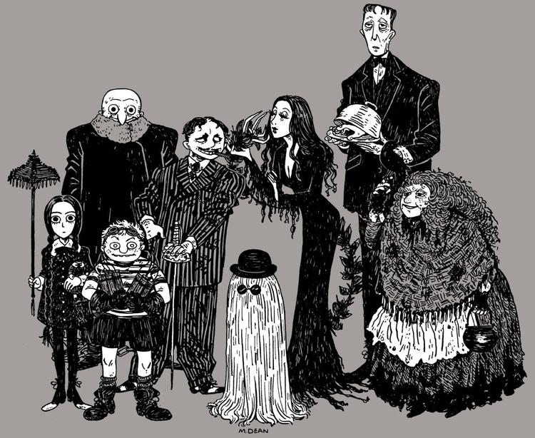 Addams Family - addamsfamily, blackandwhite - meedean | ello