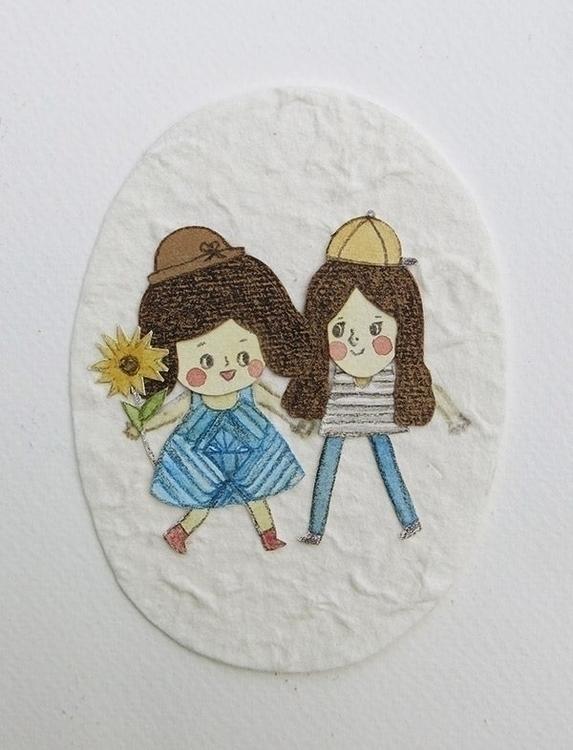 children'sillustration, papercraft - ruedeejulla | ello