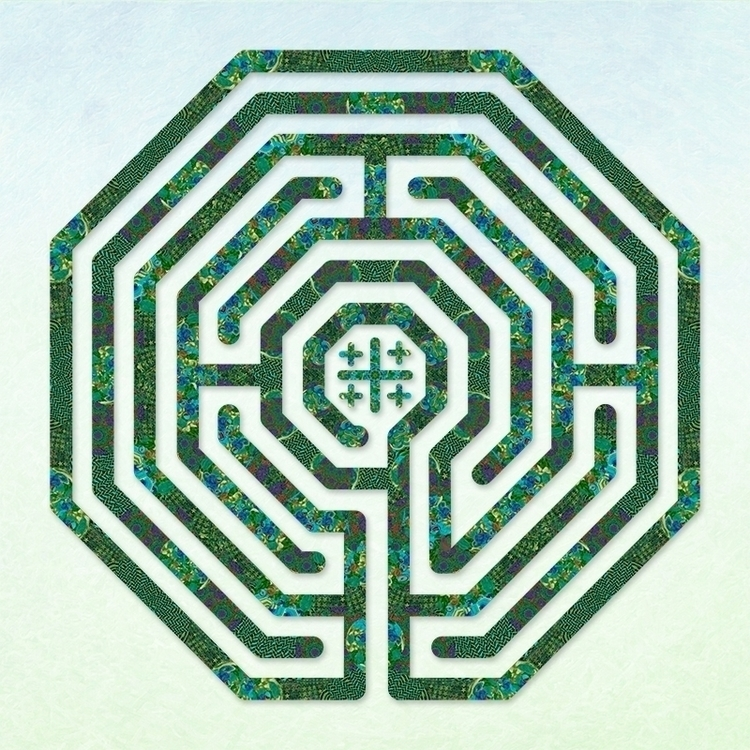 Cologne - Origami Paper labyrin - nancyaurandhumpf | ello