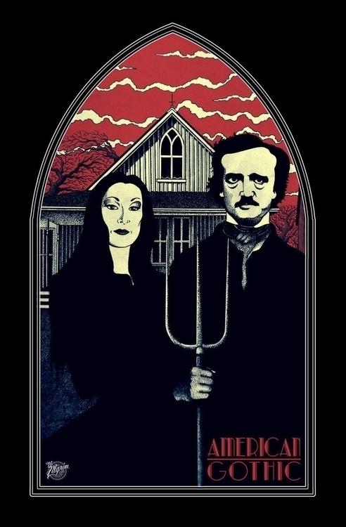 × American Gothic Morticia Adda - thepilgrim-9803 | ello