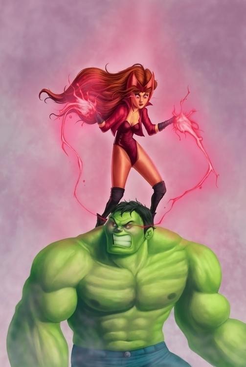 Avengers - avengers, hulk, scarletwitch - laurentino-8579 | ello