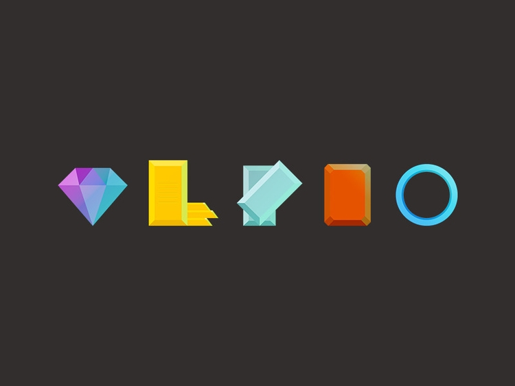 icons - icon, illustration, diamond - marmotavsmilky | ello